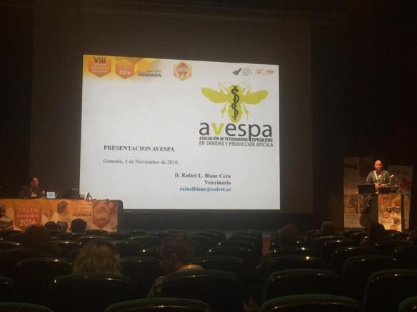 Rafa Blanc presentando AVESPA