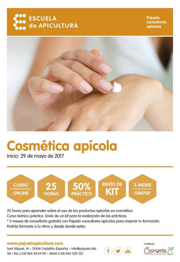 PAJUELO_cartel curso_cosmética apícola_2017