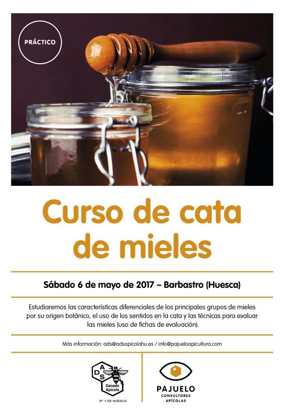 PAJUELO+DSA_cartel curso_cata de miel_2017