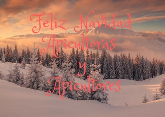 Feliz Navidad Apicultoras y Apicultores
